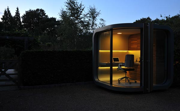 Fantastic Idea for a Modern Home Office Fantastic Idea for a Modern Home Office Fantastic Idea for a Modern Home Office officePOD prefab office 5