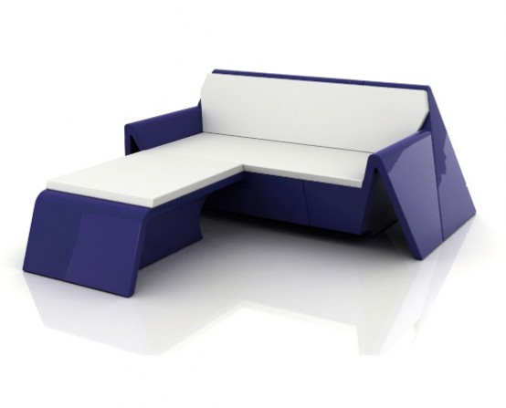 New modern outdoor furniture rest by vondom for New modern furniture