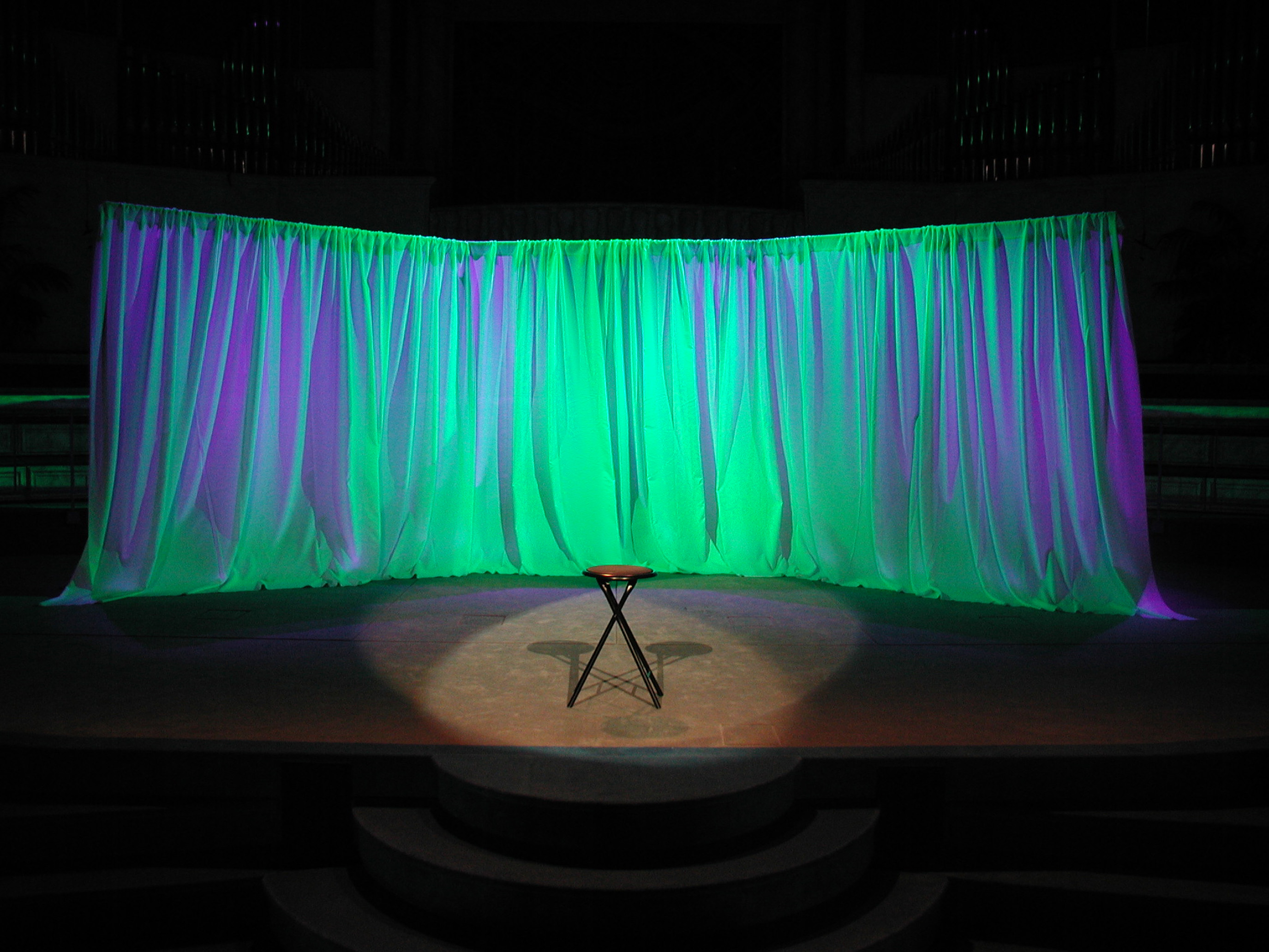 Allied event productions lighting for Capital home staging and design