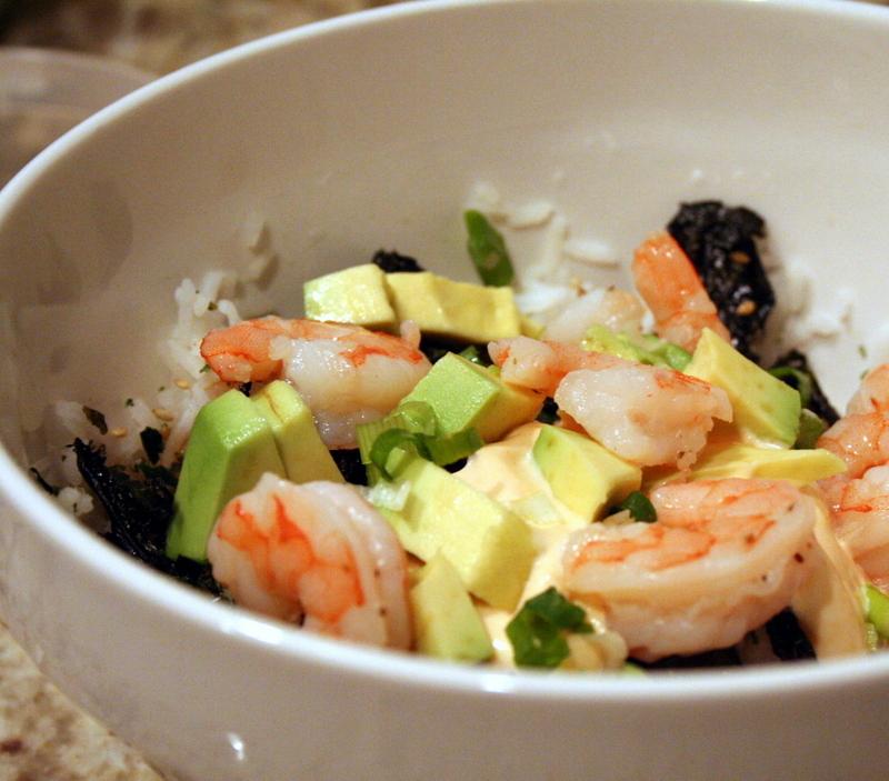 Sushi rice salad. - Blog - three pumpkins little