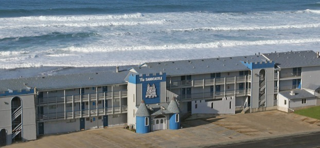 Sandcastle Beachfront Motel Lincoln City Oregon - Sandcastle