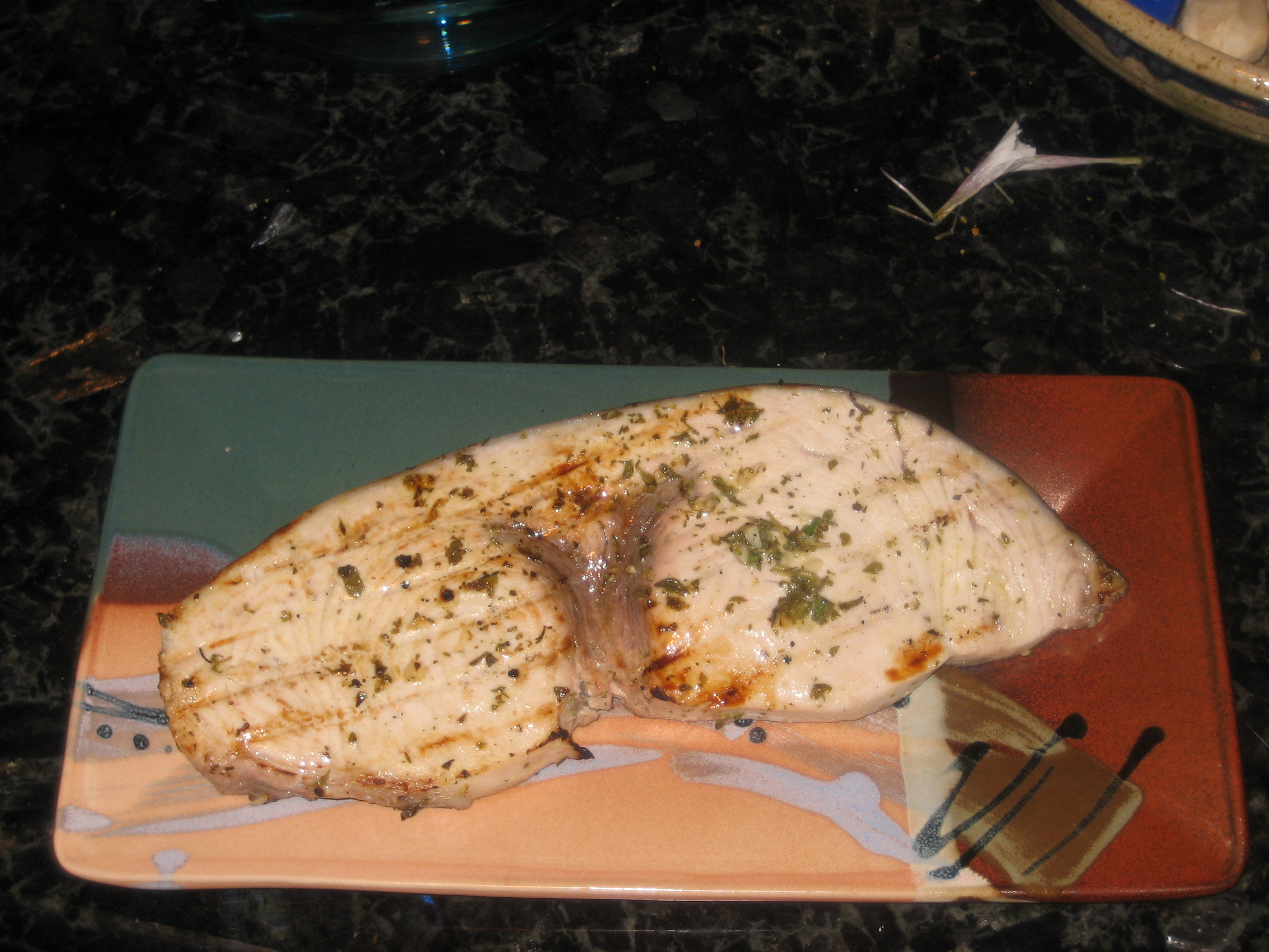 Lemon and Herb Grilled Swordfish - Recipes - Klutz in the ...