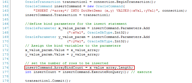 of values in the array