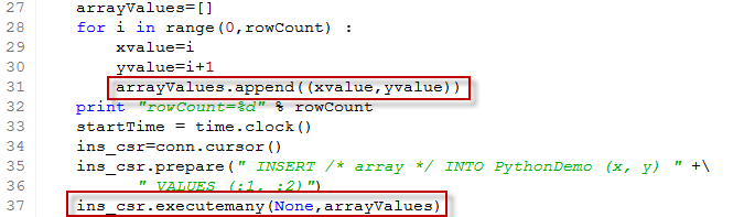 how to change a value in an array python