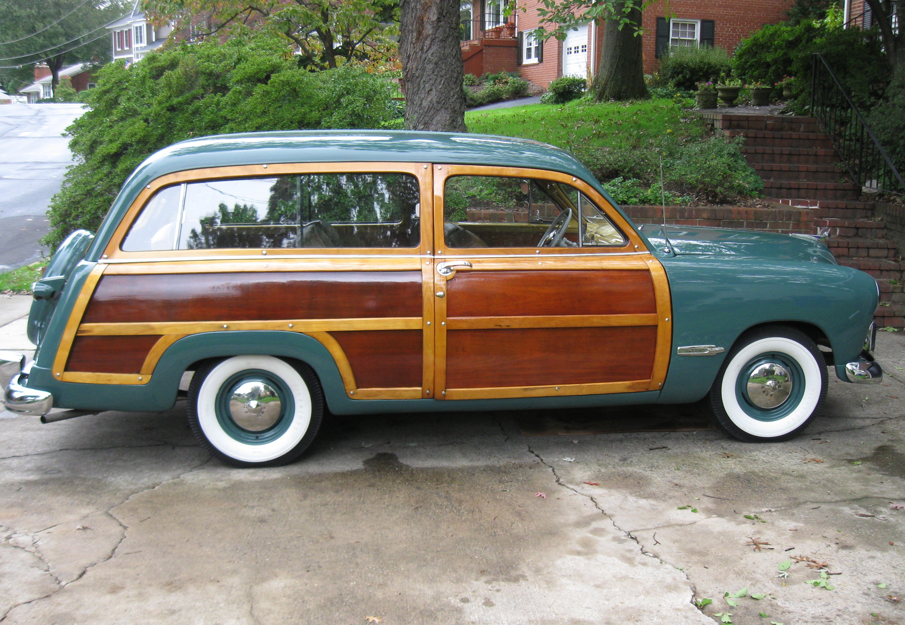 Vernparker Com Street Dreams The Latest 1949 Ford Station Wagon