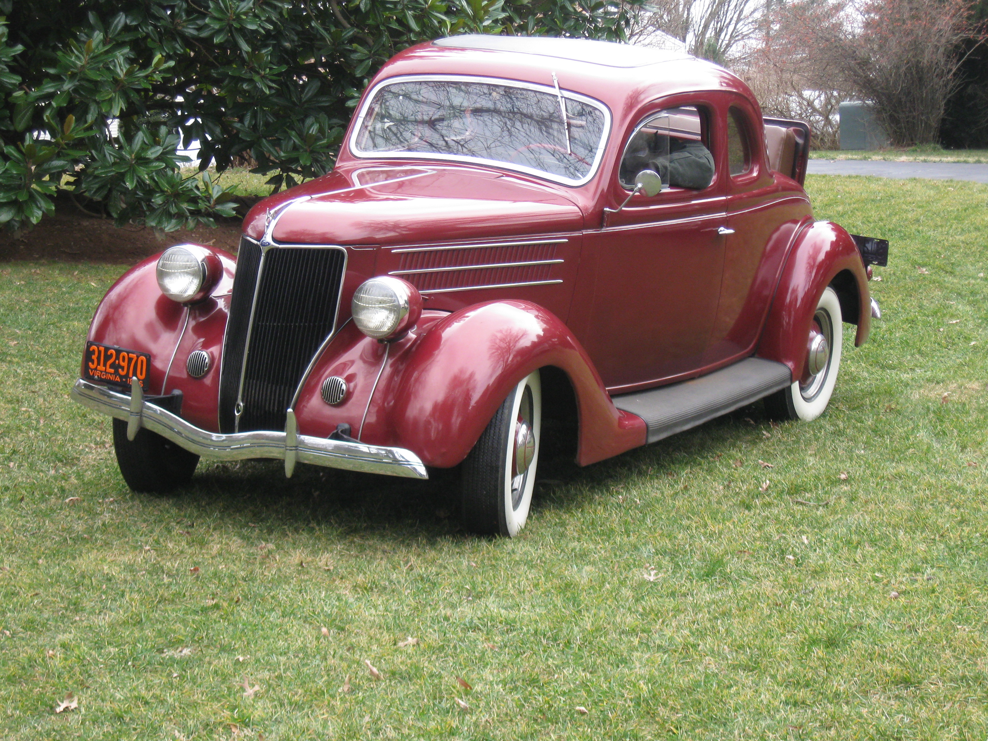1936 ford 5 window autos post for 1936 5 window coupe