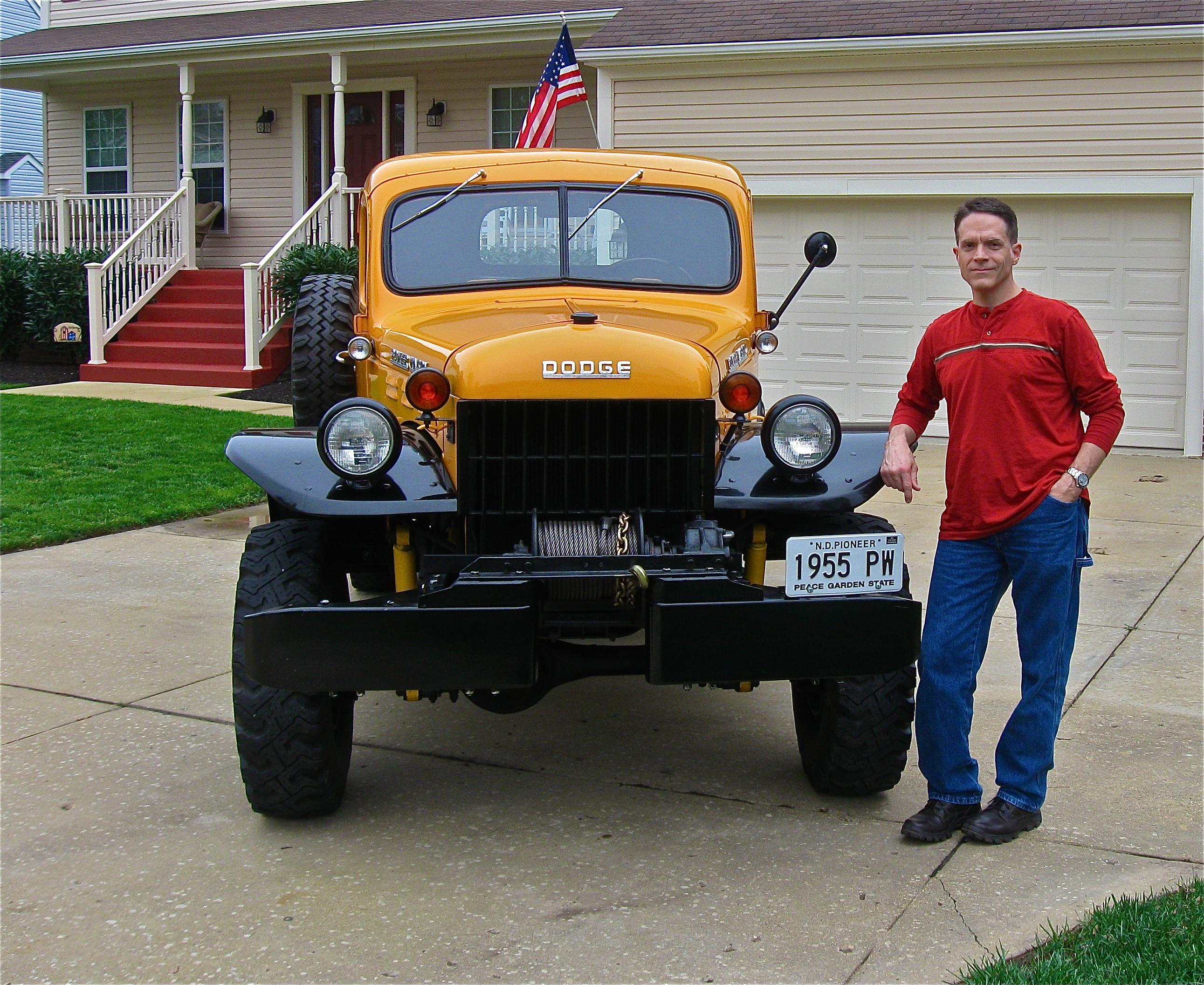 vernparker com street dreams the latest 1955 dodge power wagon