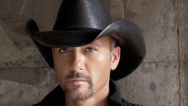 Tim McGraw Puts His Musical Blinders on While in the Studio