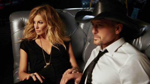 "Tim McGraw and Faith Hill Get a Shock from Brad Paisley's Book ""Diary of a Player"""
