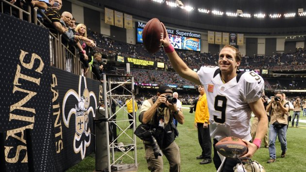 Brees Sets Record Saints Get First Win East Idaho News