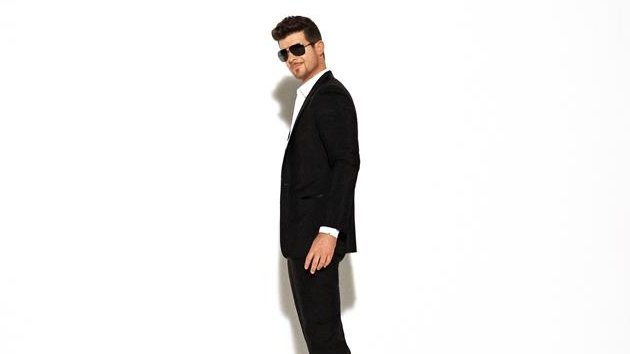 Robin Thicke Plus Topless Models Equals Hit