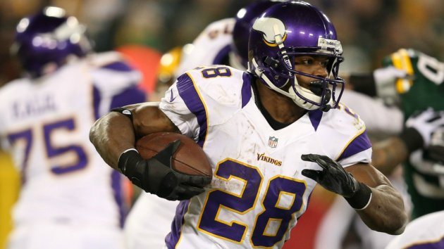 Adrian peterson excited about the vikings offense sports news abc