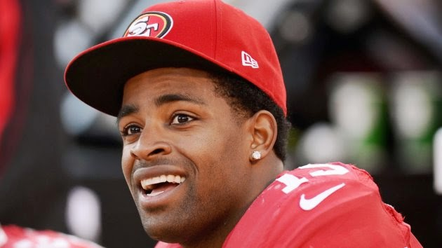 49ers' Michael Crabtree Looking Forward to Free Agency