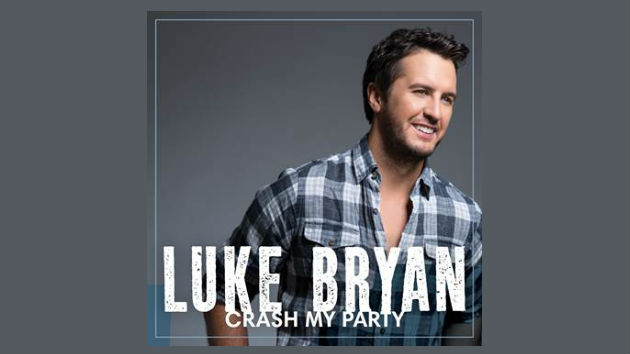 """Luke Bryan's """"Crash My Party"""" Is Now His Biggest-Selling Album Ever"""