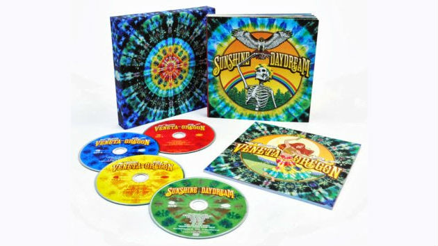 Grateful Dead To Release Quot Sunshine Daydream Quot Concert Video