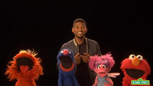 Usher Sings The Alphabet For Sesame Street