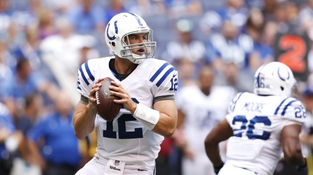 Redskins Prepare for Andrew Luck