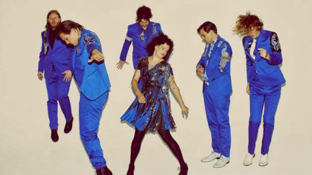 Painted Portraits Sing Lead for Arcade Fire in Band's New Video
