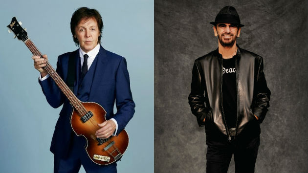 Paul McCartney And Ringo Starr Confirmed To Perform At Grammy Ceremony