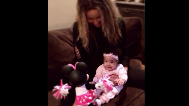 Ciara Practices Mothering Skills with Monica's Newborn ...