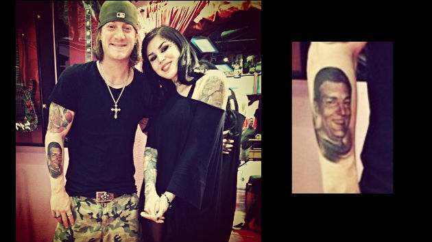 Florida georgia line 39 s tyler hubbard enlists kat von d for for Tyler hubbard tattoos