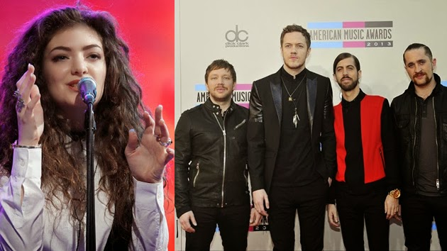 "Lorde, Imagine Dragons and Bastille Named ""Billboard's"" Top Rock Artists of 2014"