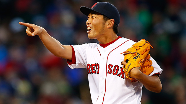 Red Sox and Reliever Koji Uehara Agree on Two-Year Extension