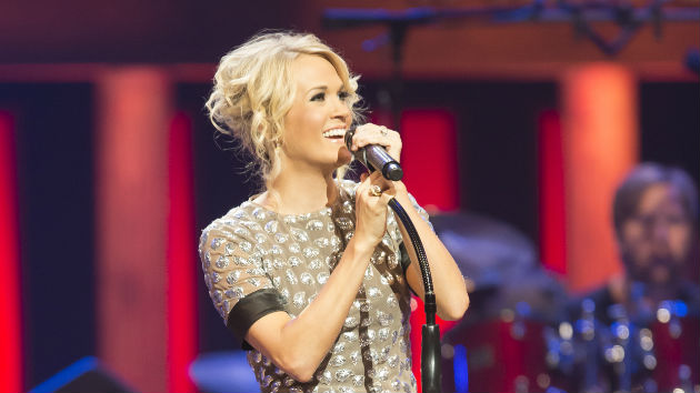 Carrie Underwood's Pregnancy Leads Her to Get Serious About Celebrating the Holidays