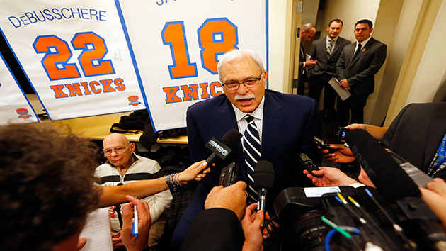 Phil Jackson Makes Plea to Knicks Fans