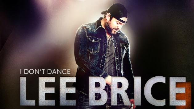 Lee brice i dont dance album cover
