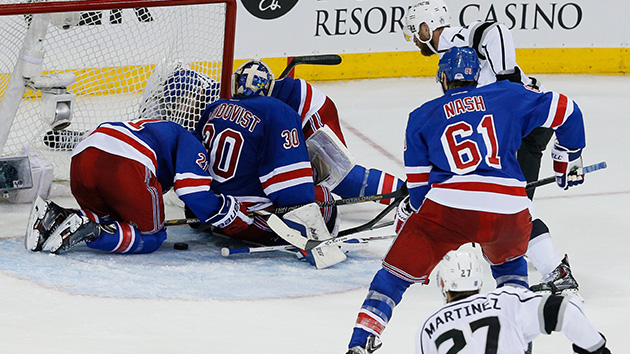 Rangers Stay Alive, Top Kings 2-1 in Game 4 of Stanley Cup Final