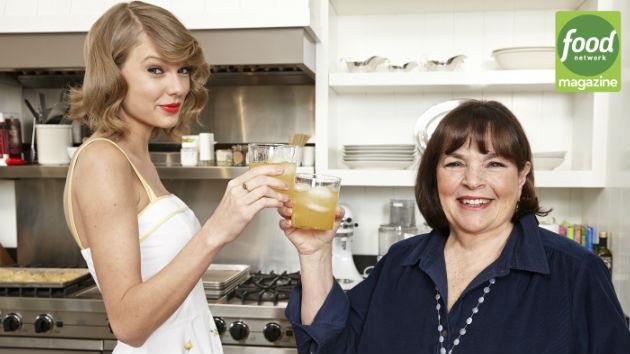 "taylor swift cooks, drinks, talks boys with ""barefoot contessa"