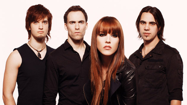 Halestorm Announces More Dates with Country Star Eric Church, Custom Lzzy Hale Gibson Guitar