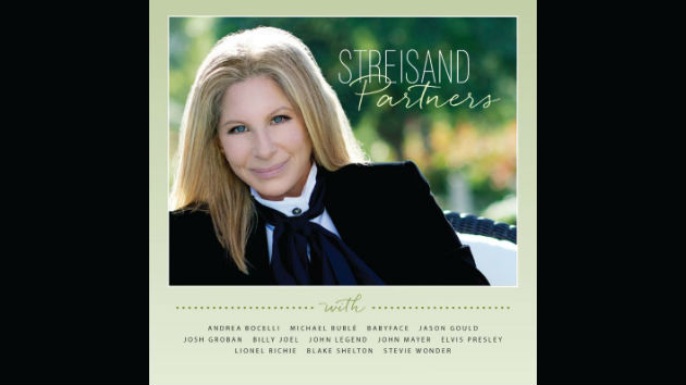 On barbra streisand 39 s new duets album she billy joel for Country duets male and female songs