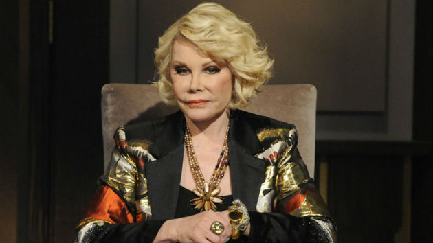 Joan Rivers' Family Keeping 'Our Fingers Crossed'