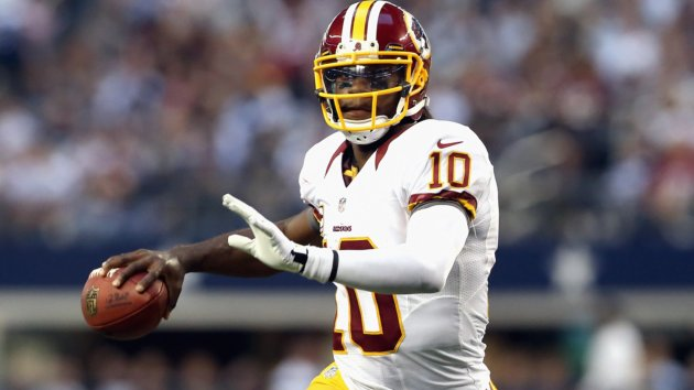 Redskins Bench RGIII for McCoy