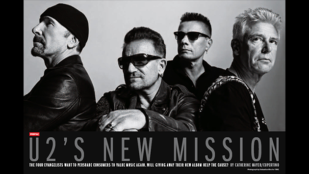 U2's Digital Music Project with Apple Will be Interactive and Audiovisual