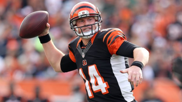 Andy Dalton Picks Up First Win in Houston