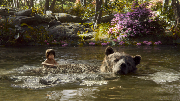 "Beary Good: Bill Murray Sings in ""Jungle Book"" Behind-the-Scenes Peek"