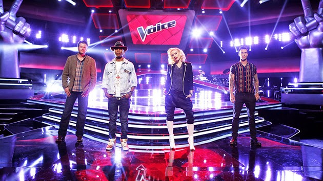 """""""The Voice"""" Recap: All Four Coaches Turn Around for Blind Singer"""