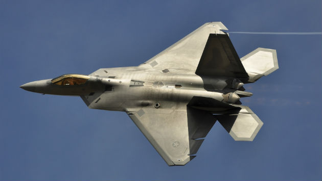 After Years of Trouble, F-22 Raptor's First Combat Mission a 'Success'