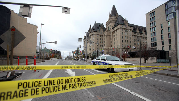 Watch the Canadian Parliament Attack Unfold