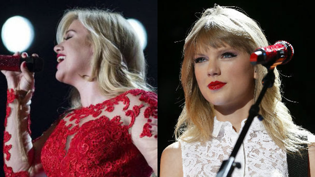 "Kelly Clarkson & Taylor Swift Gush on Twitter After Kelly Covers ""Shake It Off"""
