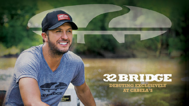 Luke Bryan Partners with Outdoor Outfitter Cabela's for 32 Bridge Clothing Line
