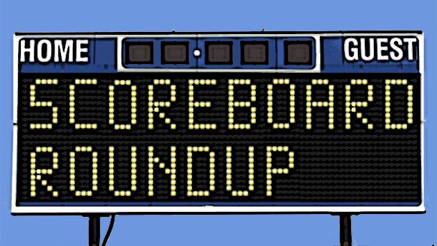 Scoreboard Roundup - 4/25/15