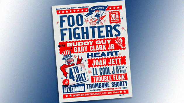 Foo Fighters to Play All-Star 4th of July Stadium Show in Washington, D.C.