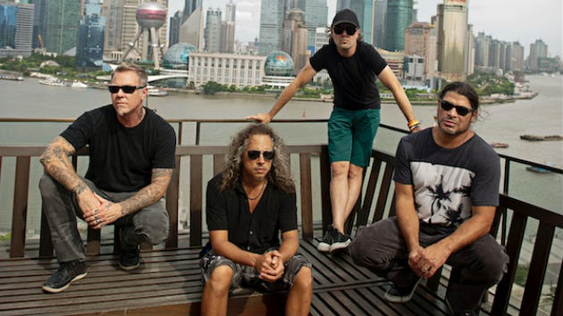 Metallica to Headline Reading & Leeds Festivals
