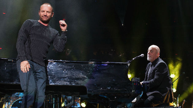 Sting & John Mellencamp Join Billy Joel Onstage at Madison Square Garden