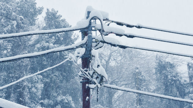 Winter Storm Causes Power Outages Throughout Northeast