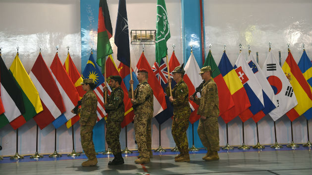 US, NATO Mark End of Mission in Afghanistan